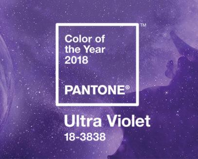 decoração ultra violet